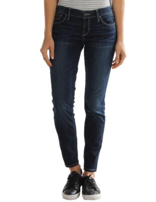 942df53daf Jeans Guess corte straight azul medio
