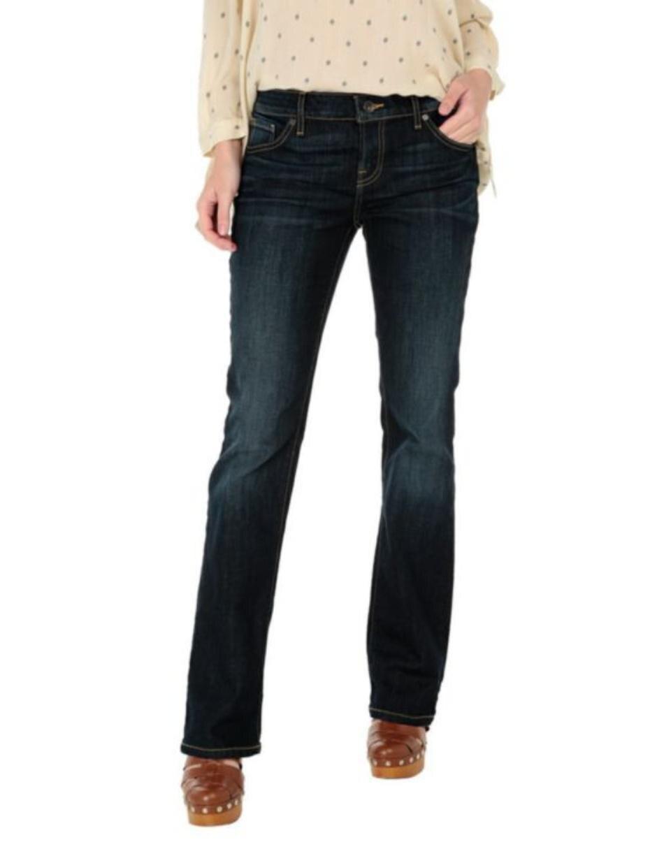 805ed5b720020 Jeans Guess corte bota azul medio
