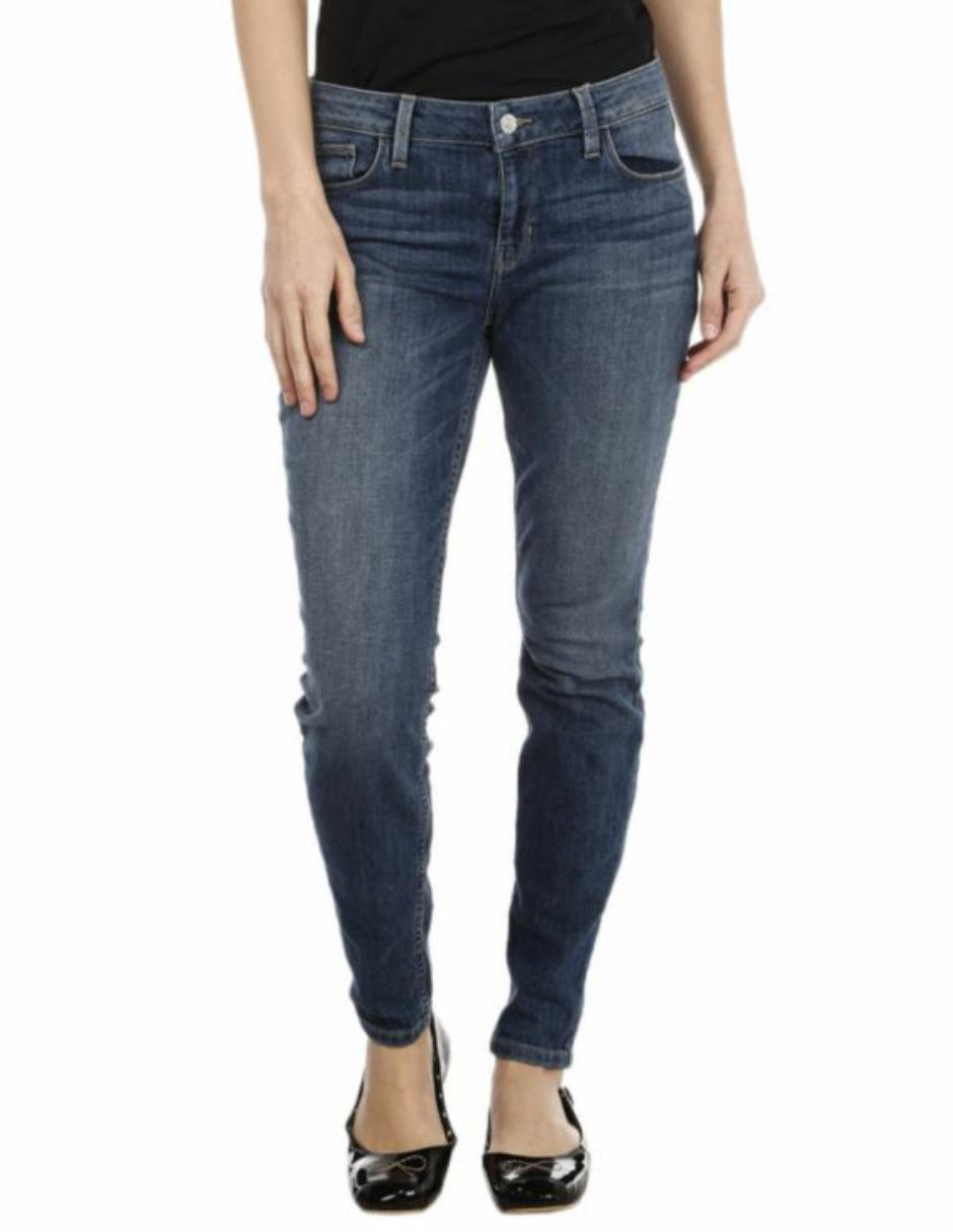4bc22ad86aaf2 Jeans Guess corte skinny azul medio